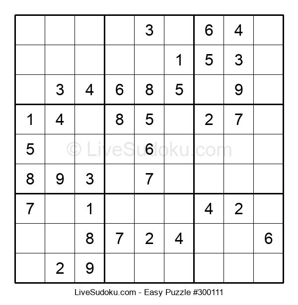 Beginners Puzzle #300111