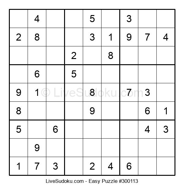 Beginners Puzzle #300113