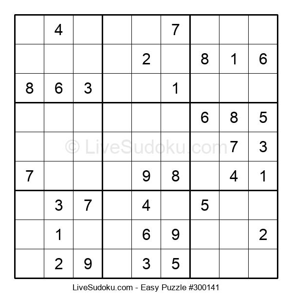 Beginners Puzzle #300141