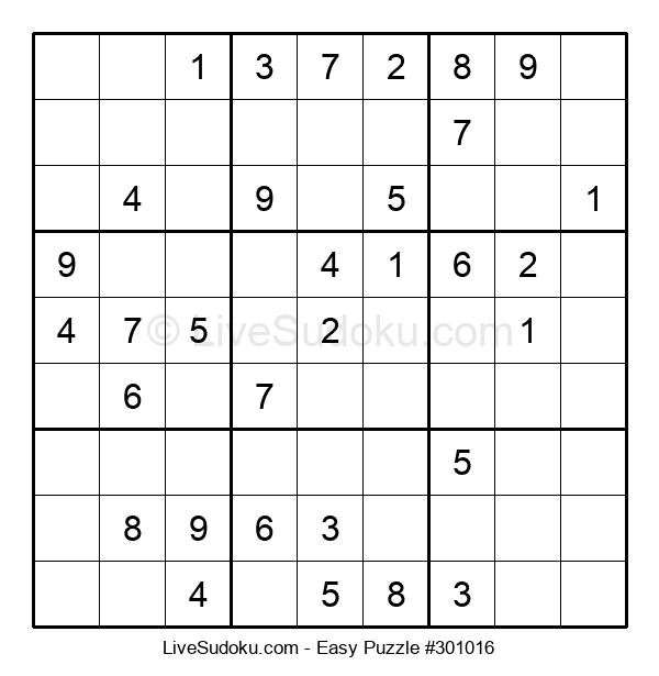 Beginners Puzzle #301016