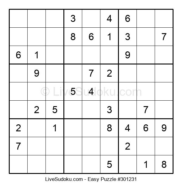 Beginners Puzzle #301231