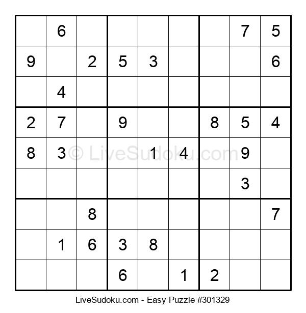 Beginners Puzzle #301329