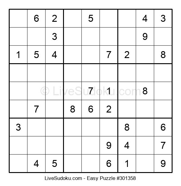 Beginners Puzzle #301358