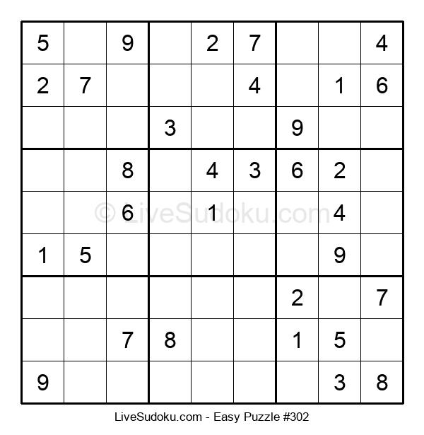 Beginners Puzzle #302