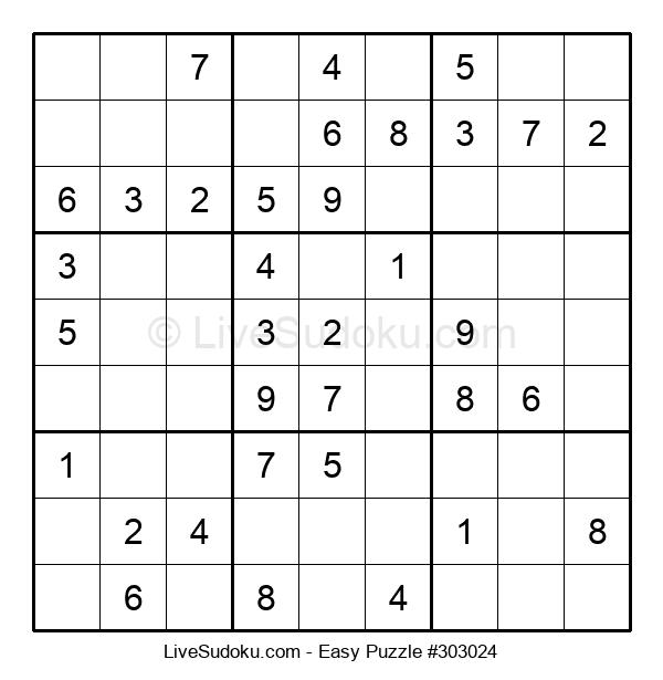 Beginners Puzzle #303024