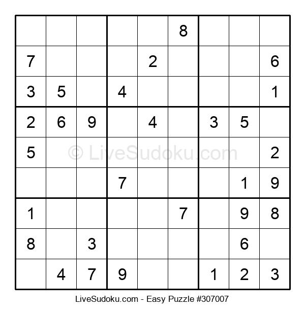 Beginners Puzzle #307007
