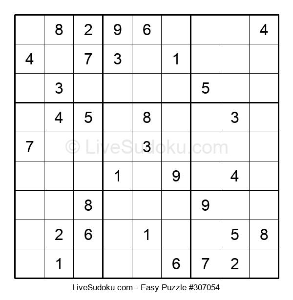 Beginners Puzzle #307054