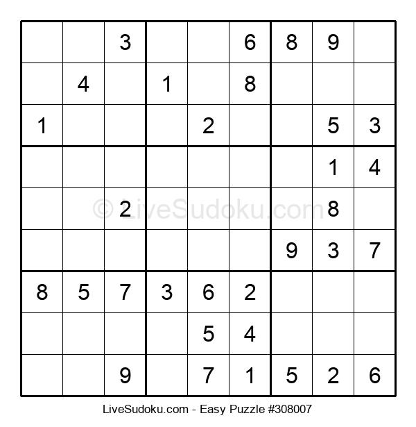 Beginners Puzzle #308007