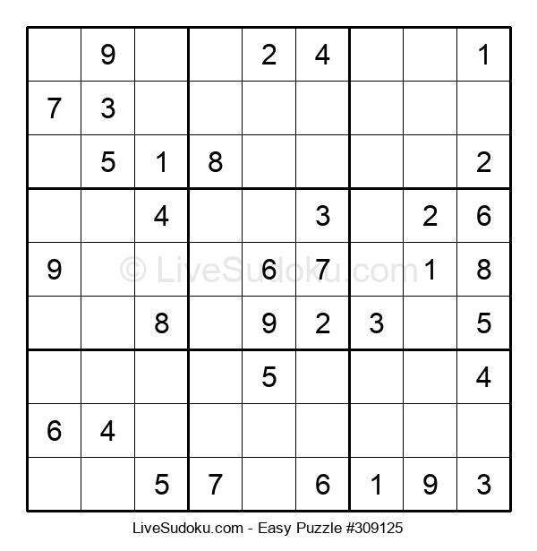 Beginners Puzzle #309125