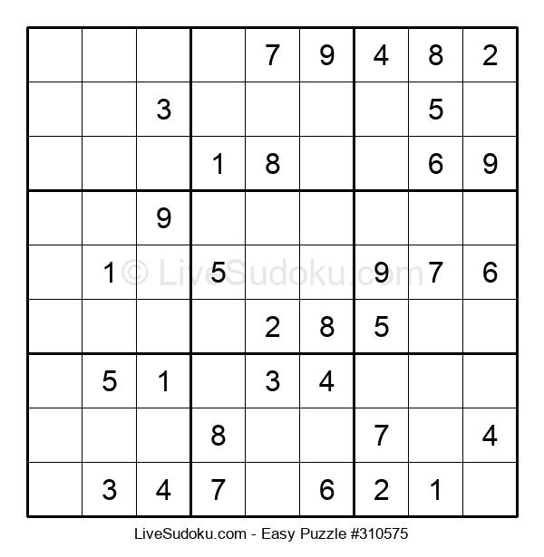 Beginners Puzzle #310575