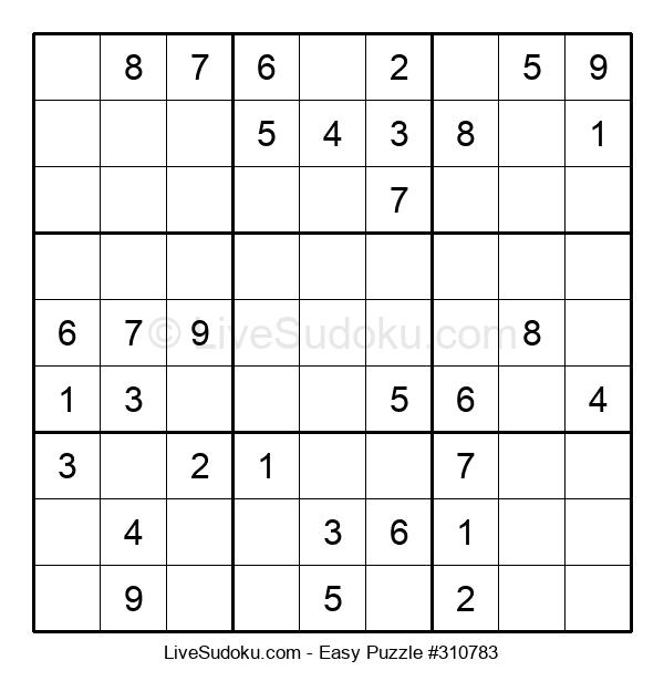 Beginners Puzzle #310783