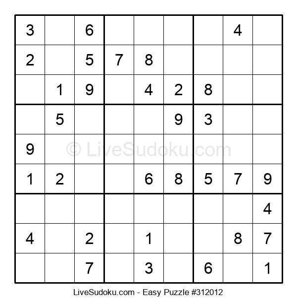 Beginners Puzzle #312012