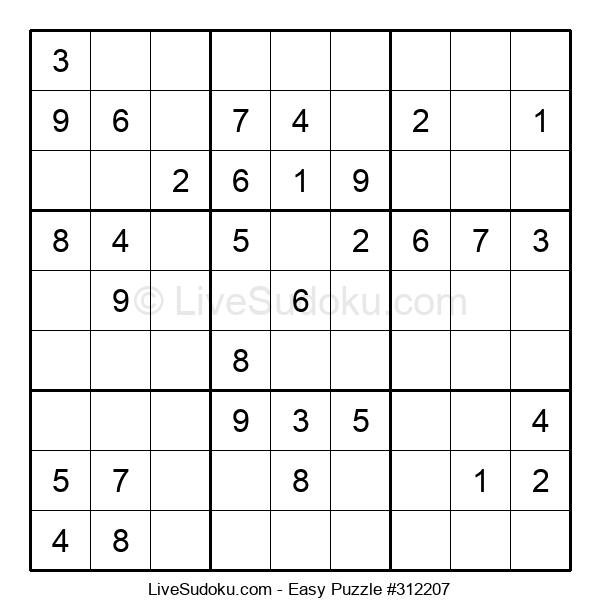 Beginners Puzzle #312207