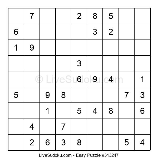 Beginners Puzzle #313247