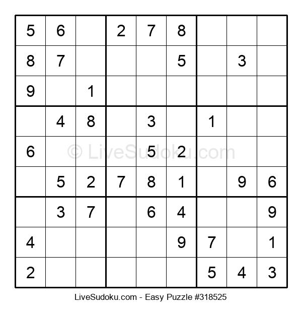 Beginners Puzzle #318525