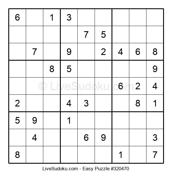 Beginners Puzzle #320470
