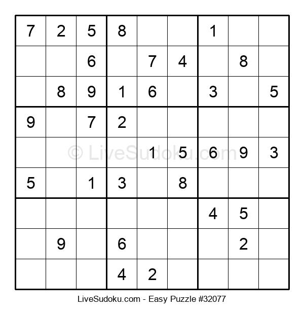 Beginners Puzzle #32077