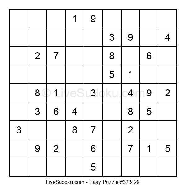 Beginners Puzzle #323429