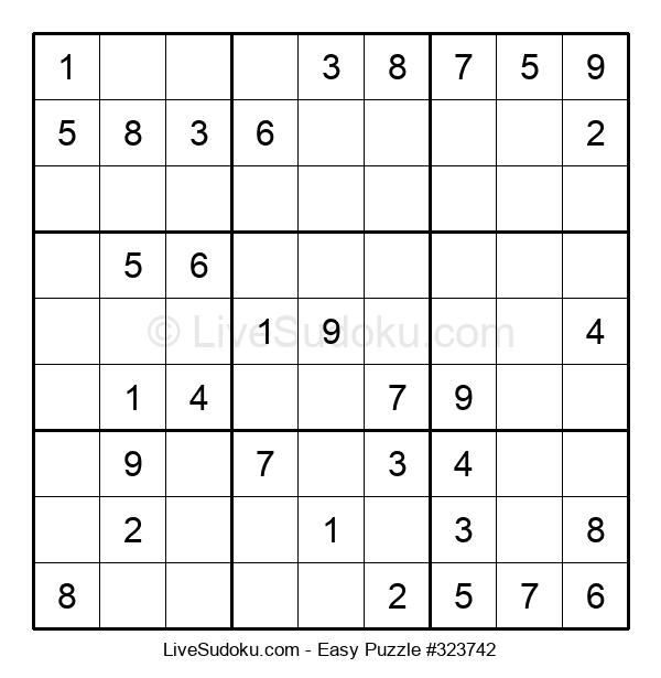 Beginners Puzzle #323742