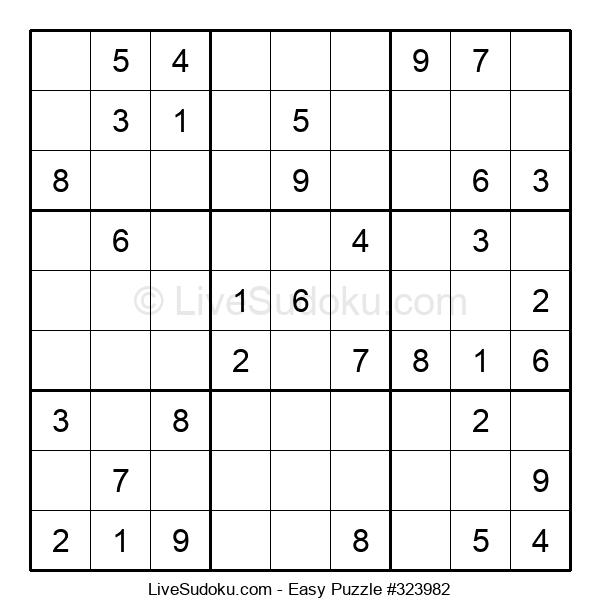 Beginners Puzzle #323982