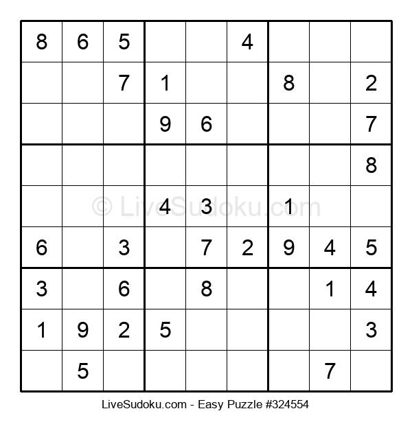 Beginners Puzzle #324554