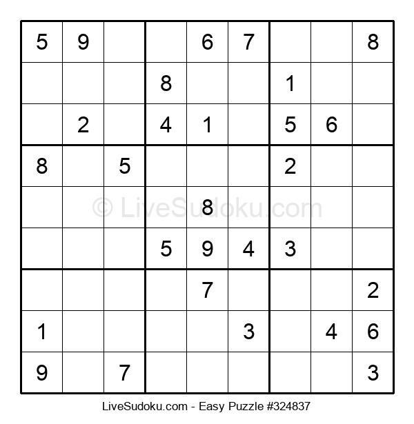 Beginners Puzzle #324837