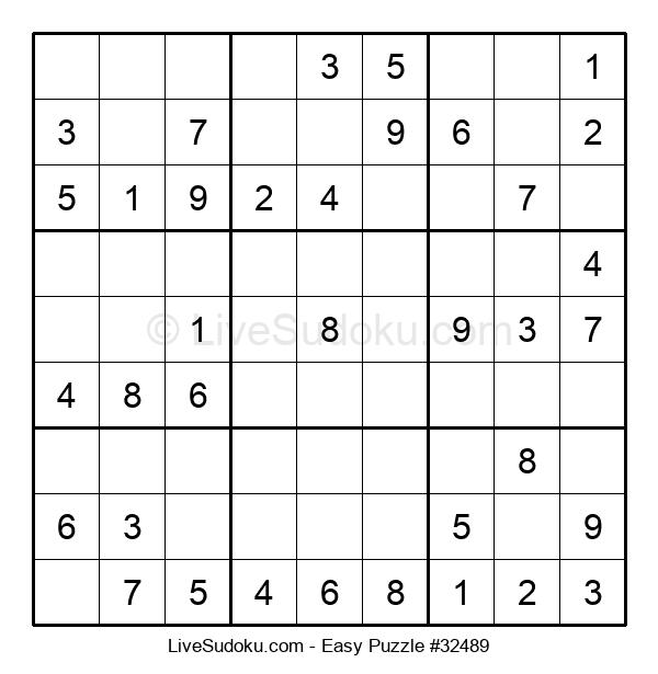 Beginners Puzzle #32489