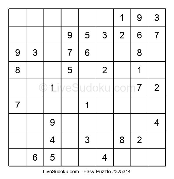 Beginners Puzzle #325314