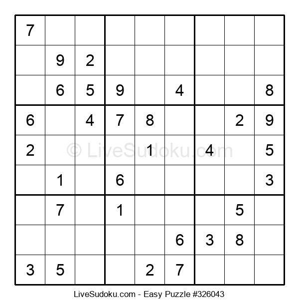Beginners Puzzle #326043