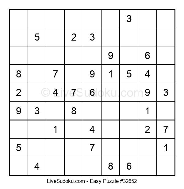 Beginners Puzzle #32652