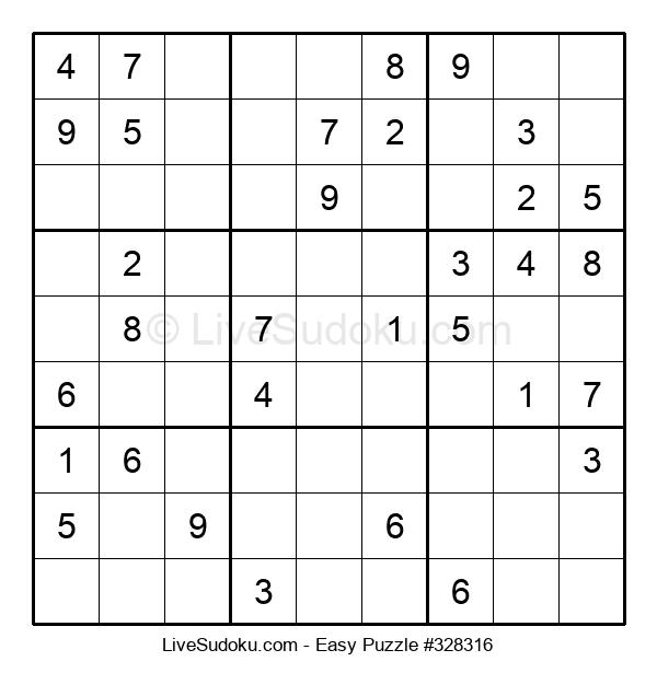 Beginners Puzzle #328316
