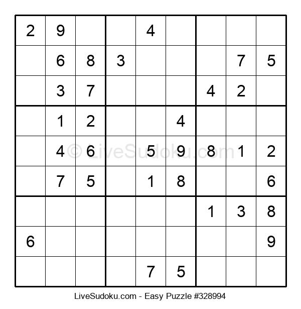 Beginners Puzzle #328994