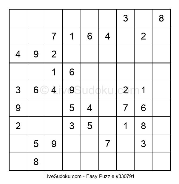 Beginners Puzzle #330791