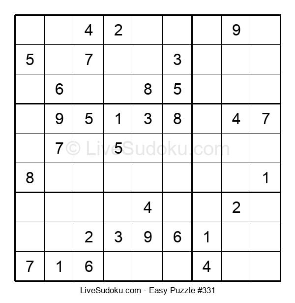 Beginners Puzzle #331