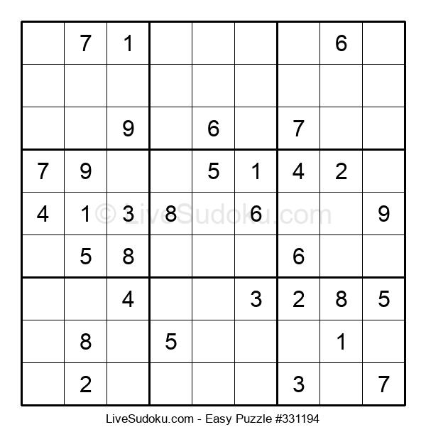 Beginners Puzzle #331194