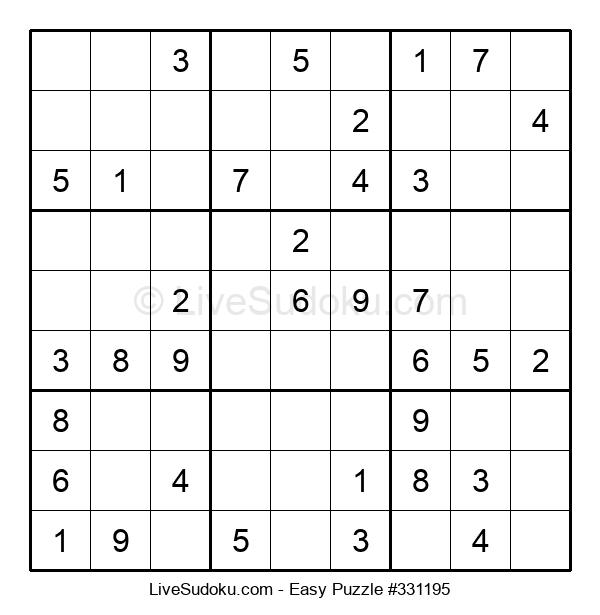Beginners Puzzle #331195