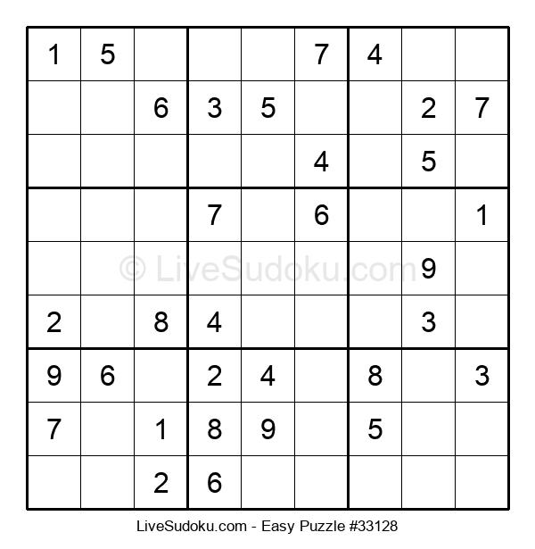 Beginners Puzzle #33128
