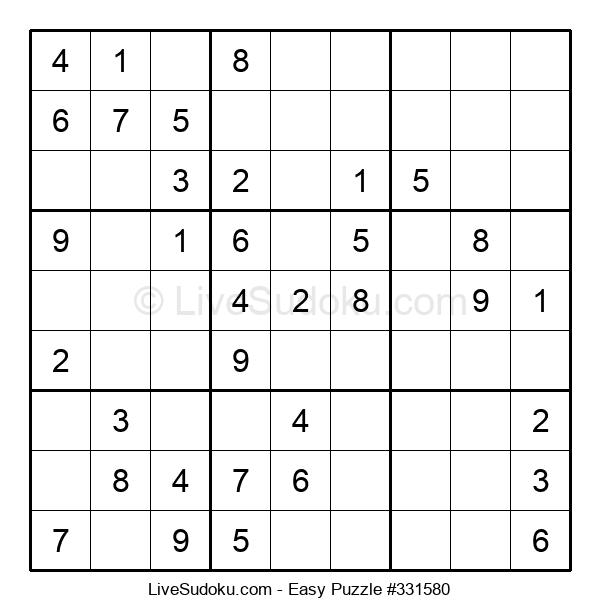 Beginners Puzzle #331580