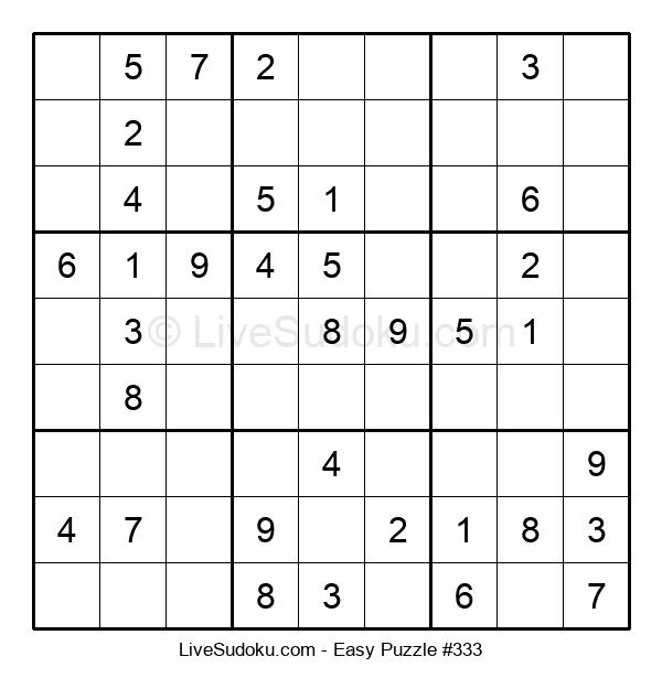 Beginners Puzzle #333