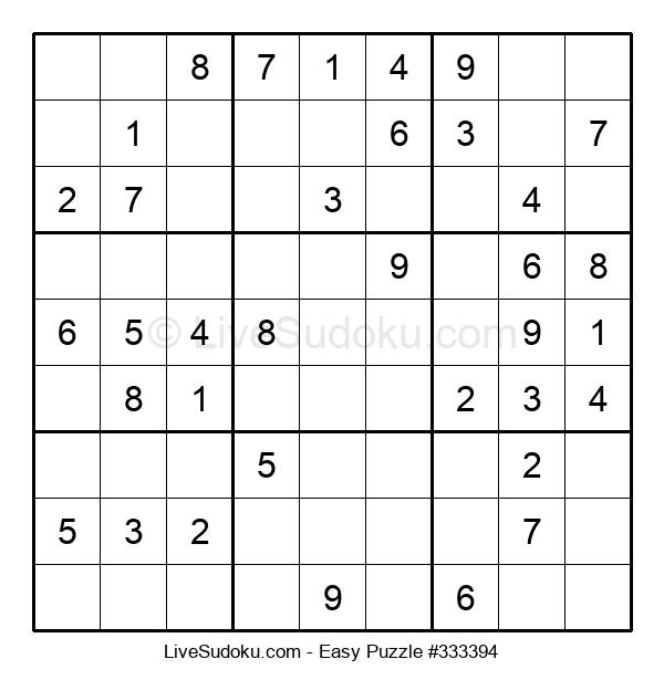 Beginners Puzzle #333394