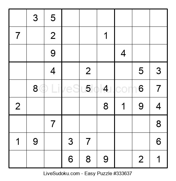Beginners Puzzle #333637