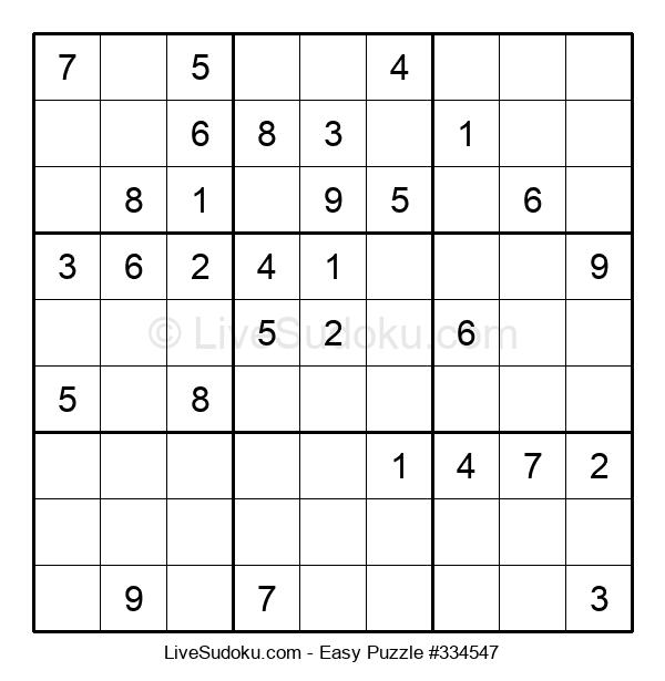 Beginners Puzzle #334547