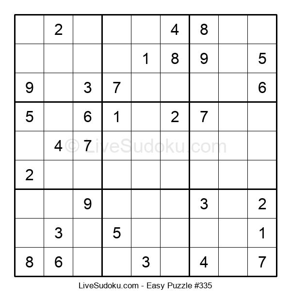 Beginners Puzzle #335