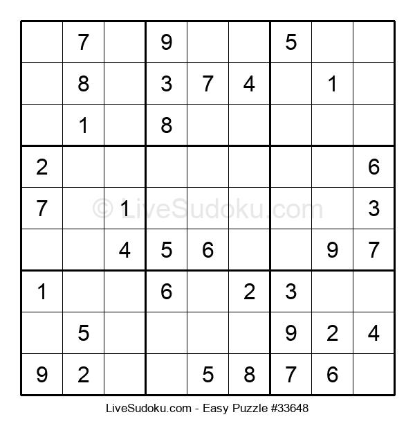 Beginners Puzzle #33648