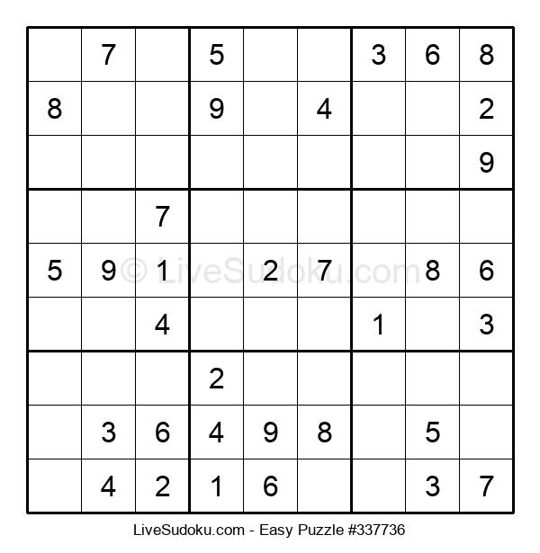 Beginners Puzzle #337736