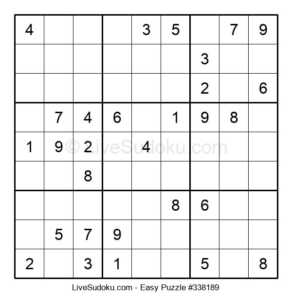 Beginners Puzzle #338189