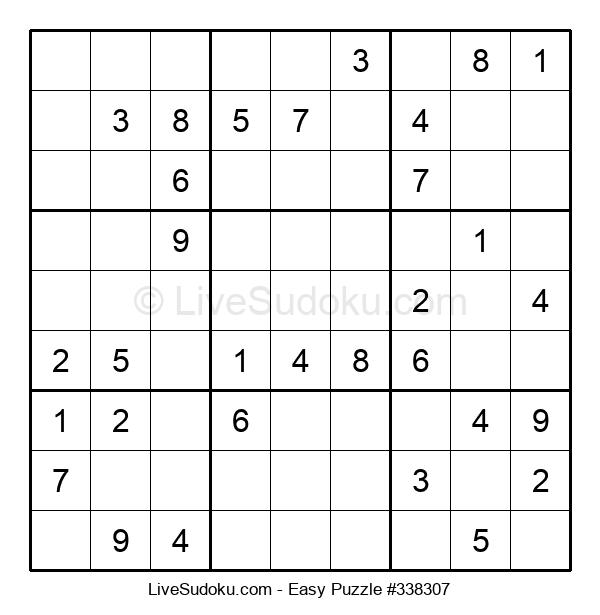 Beginners Puzzle #338307