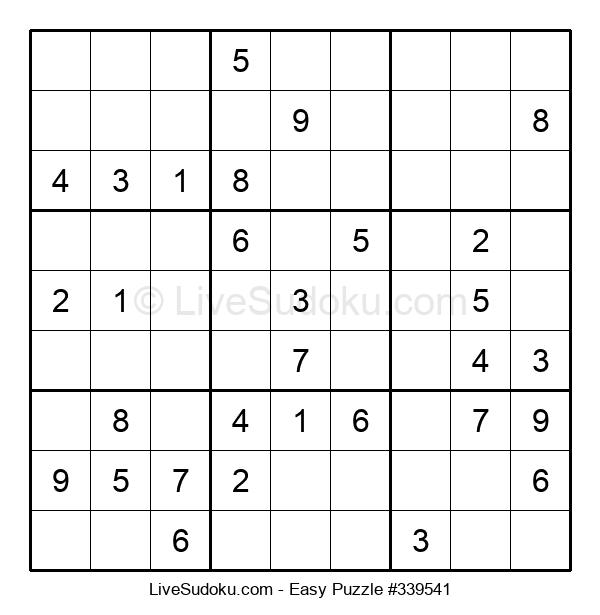 Beginners Puzzle #339541