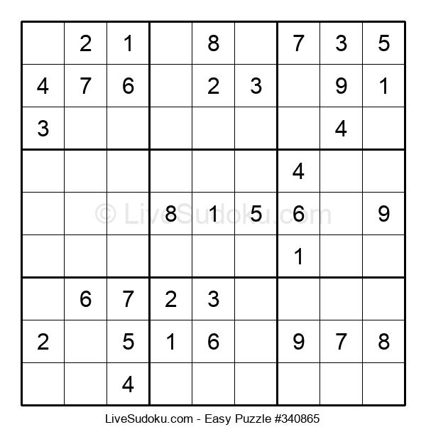 Beginners Puzzle #340865