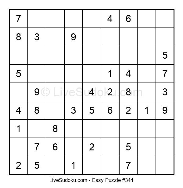 Beginners Puzzle #344